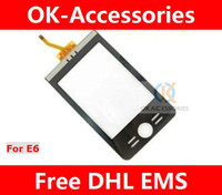 Wholesale Touch Screen Digitizer Panel for Motorola E6 Repair Replacement Free DHL EMS