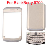 Wholesale Replacement Piece Housing For BlackBerry White With Pearl White set