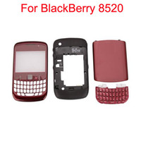 Wholesale Replacement Full Housing For BlackBerry Red set