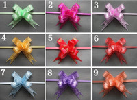 Wholesale gifts Packaging ribbons decoration gift packing flower cm pull bows