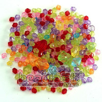 Wholesale Hot Sale MM Oval Rhinestone Bead Multicolor Acrylic Crystal Loose Beads Bags