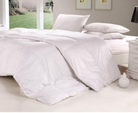 Wholesale NEW WHITE TC DUCK DOWN TEXCOTE POWER UP COMFORTER COTTON COVER SINGLE FULL QUEEN KING SIZE FOR BEDDING