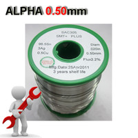Wholesale Alpha Lead free solder wire solder cable silver capacity SAC305 mml g