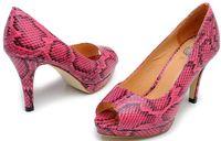 Women Red Pumps Osionce Womens Dress Shoes Ladies High Heel Shoe Platform Cheap Peep Toe Heels Fashion Heeled Pumps