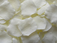 Wholesale 2000 Ivory silk rose petal petals wedding favors party decoration