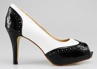 Men Black Pumps Osionce Dress Shoes Womens Oxford High Heel Shoe Platform Toe Pumps Girl Design Heels Cheap On Sale