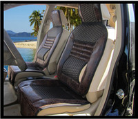 Wholesale 2012 high quality new seat covers made of coll bamboo rattan auto accessories x051a