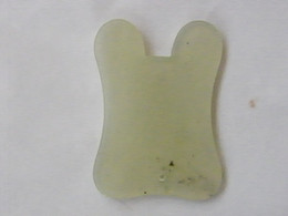 Wholesale Natural Nephrite jade Guasha Tools Board with User Manual factory directly