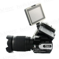 Wholesale HD9100 P HD inch LTPS LCD X Zoom MP Digital Video Camera Camcorder DV Mega CMOS Sensor