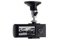 Wholesale Car DVR New Design Dual Lens Car Camera with GPS Logger and D G Sensor X3000