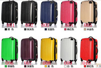 Wholesale Luggage Pull Rod Case Rolling new arrivals good quality ABS PC fy2632 made in china