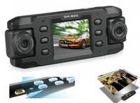 Wholesale DM HD Car DVR Wide Angle Degree Dual Camera Low Illumination Night Vision Twins Cam