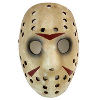 Wholesale Hot Sale Deluxe Movie Masks JasoN Hockey Mask Christmas Halloween Easter Mask Death MasK