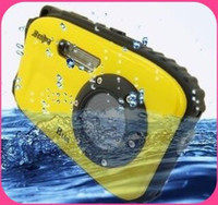 Black 10.0 - 20.0MP Fixed Focus 2.7 inch LCD Screen HD waterproof digital camera 10m underwater 12 mega 8x zoom B168
