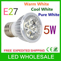 Wholesale Retail x E27 W AC85 V High Power LED Light Lamp Warm Cool Pure White LED Lighting led bulbs