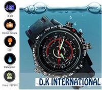 Wholesale 4GB New model Waterproof spy watch camera