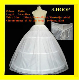 Wholesale Hoops T Wedding Accessories Petticoat Adjustable Waist