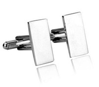 Wholesale Long brand cufflinks silver cufflinks Fashion many style pairs