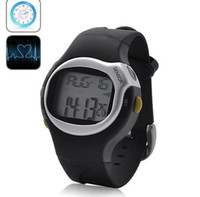 Wholesale New Sports Exercise Watch with Stopwatch Pulse Calorie Counter Reader with LCD Display