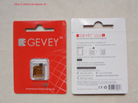 Wholesale Gevey Ultra S Unlock for iphone s ios Turb Sim Plug and Play F981 Chip G