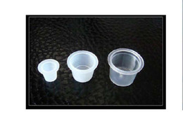 Wholesale 300pcs Tattoo Ink Cups Caps For Tattoo Ink Tattoo Supplies Ink Caps for tattoo ink Mixed size