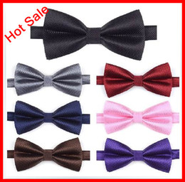 Wholesale New Arrival Hot Sale Colorful Rich Noble Pane Bridal Groom Bow Ties Party Ties Business Tie