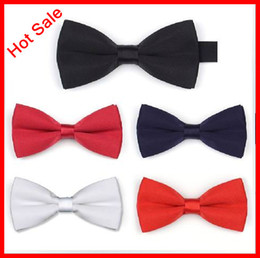 Wholesale Brand New Manoble Elegant Noble Satin Color Solid Bridal Groom Ties Party Ties Business Bow Tie