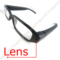 Wholesale 4GB Glasses Spy camera Digital HD Video Recorder Eyewear Spy cam Digital Hidden Video camera sample