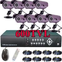 Cheap Bullet security camera Best 8  net dvr