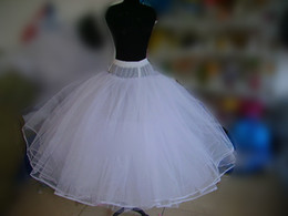 Wholesale New Arrival Charming In stock fast shipping accessary petticoat underskirt crinoline for bouffant wedding bridal dress