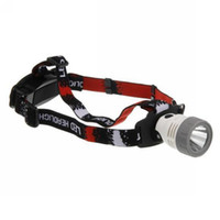 Wholesale CREE Q5 LED lumens Modes Headlamp Headlight Head lamp Aluminum alloy reflector Flashlight Ligh