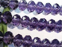Wholesale DIY pc Purple Swarovski Crystal Loose Bead mm mm mm