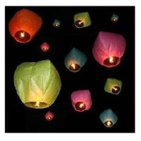 Holiday Sky Lantern Red 20PC CHINESE SKY LANTERN FIRE BALLOON WEDDING