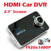 Wholesale 2012 Digital HDMI Car DVR Vehicle Camera quot TFT Screen M pixel x Zoom Black Box for Road Security