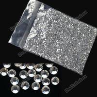 RHINESTONE - 20000 Clear Crystal Glitter Nail Art Rhinestone Decoration mm New