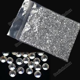 Wholesale 20000 Clear Crystal Glitter Nail Art Rhinestone Decoration mm New