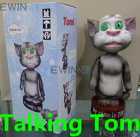 Wholesale HOT Tom Cat Toy Tom Talking Tat of Android Cellphone Game Touch Me Money Box Money Pot Piggy Bank