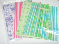 Wholesale 95pcs Mix Plastic Shopping Gift Bags Fit Gift Shopping Jewelry WB23