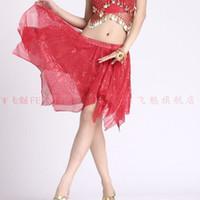 Women bellydance dress - GLITTER Belly Dance Short Skirt Bellydance Stage Wear Bellydance Dress colors in stock