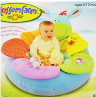 Wholesale cheap ELC Blossom Farm Sit Me Up Cosy Baby Seat Baby Play Mat Play Nest Baby Soft Sofa Small