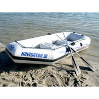 air sea express - 3 persons inflatable air boat sea air boat with paddle pump JiLong Navigator II free express