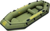 Wholesale 5 persons inflatable pvc boat air sports boat JiLong Navigator II free express