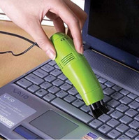 Vacuum Cleaner Keyboard  Promotion ! MINI USB VACUUM KEYBOARD CLEANER for PC LAPTOP 1pcs