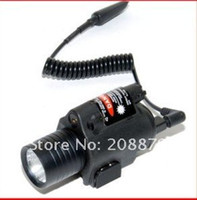 Wholesale Tactical M6 Laser amp Flashlight with CREE LED Use for airsoft