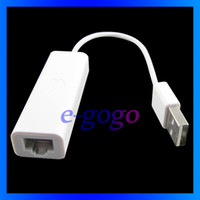 Wholesale New USB Ethernet Adapter Hi Speed Mb Adapter for macbook air pro
