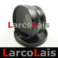 Wholesale 10PCS mm Wide Angle Lens x With Macro mm Wide angle Optical Lenses for Camera Camcorder