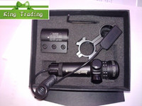 Wholesale Red Dot laser sight rifle gun scopes outside Adjustable free ship