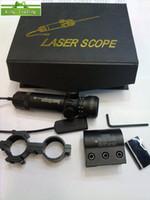 Wholesale Red Dot laser sight rifle gun scopes outside Adjustable free ship