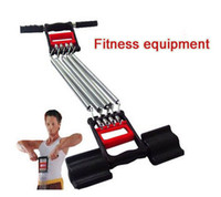 Wholesale Springs Muscle Build Chest Expander Muscle stronger Body building Multi fuction Fitness equipment