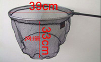 Wholesale fishing net M Foldable Detachable Aluminium Handle Fishing Landing Net LQ2454